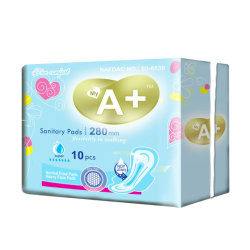 Ultra Absorptions-gesundheitliche Serviette-Hersteller-Großverkauf-gesundheitliche Auflage für Dame