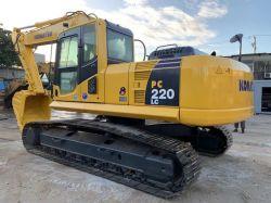 Nouveau modèle Japon utilisé du matériel de construction Komatsu PC excavatrice chenillée220-8