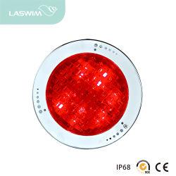LED de alta potência de aço inoxidável com nicho Plasitc Luz subaquática