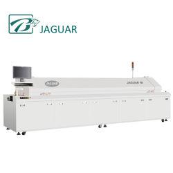 Jaguar SMT бессвинцовой пайки оплавлением печи с измерение температуры (F8)