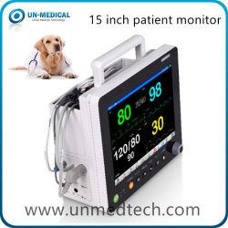 Vet здравоохранения 15-дюймовый портативный монитор пациента для ветеринарных
