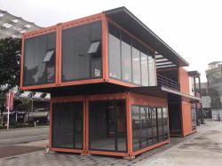 Het moderne Huis van de Container van de Luxe Creatieve voor het Geprefabriceerde naar huis Leven