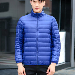 Los hombres invierno ligero Packable Puffer Down Jacket
