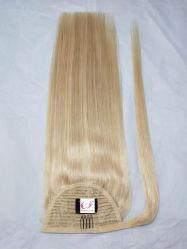 De in het groot Beste Verkopende Omslag van het Haar van de Paardestaart van het Menselijke Haar Remy