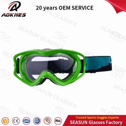 Nouveau design Dirtbike verres de lunettes de moto compatible avec masque