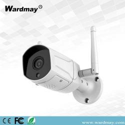 weiße Ferninländisches Wertpapier-Gewehrkugel der ansicht-1080P drahtlose IP-Kamera