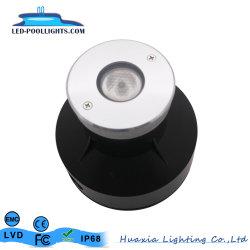 3Watt encastrés à LED IP68 des feux de la piscine sous-marin