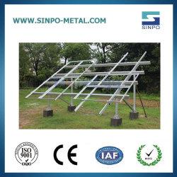 نظام تركيب اللوحة الشمسية Esay Solar Panel Rack for Ground النظام الكهروضوئي