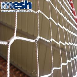 Sécurité en acier inoxydable Wire Rope mailles/Maille de câble