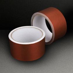 Коммерческого уровня коричневый / Белый лак алюминиевую фольгу ленту