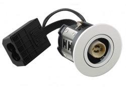 Downlight LED 6W Iluminación interior regulable Triac para MR16 Las lámparas con casquillo GU10 Cap