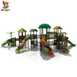 GS TUV City Park Combined Slide Giochi di plastica per bambini Parco giochi per bambini Parco acquatico all'aperto