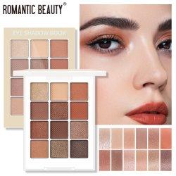 Y207 미녀 유럽 및 미국 메이크업 리트칭 아이 인 핫 Eyeshadow Palette 판매 12 Eye Shadows의 국경 간 공급