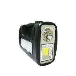 تيار متردد شمسي USB تيار مستمر نظام إضاءة محمول نظام إضاءة متنقل شاحن هاتف محمول يعمل بالطاقة الشمسية USB قابل للشحن في حالات الطوارئ مع مصباح LED
