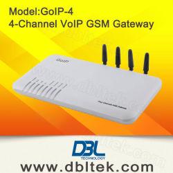 4つのポートのVoIP GSMのゲートウェイ(GoIP4)