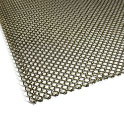 Aço inoxidável Folha Chainmail malha resistente ao fogo a tela de malha com Lareira