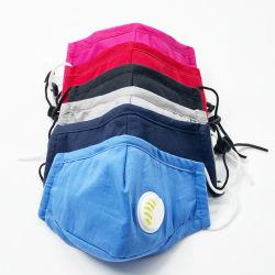 Tuch-Baumwollschirmt kundenspezifischer Gesichtsmaske-Mund mehrfachverwendbare Facemask Baumwollschablonen-Schutzmaske ab