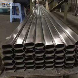 Tp316 Tubo de forma elíptica de acero inoxidable