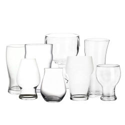 Бокалы ясно очки Логотип Craft стеклянных бутылок пива