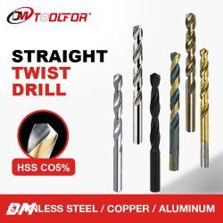 전동 공구 100% 만족 HSS M35 Twist Cobalt 드릴 비트