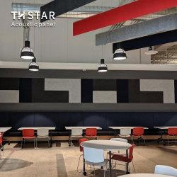 TH-Star Dekorative feuerfeste Polyester-Faser (PET) Akustikplatte