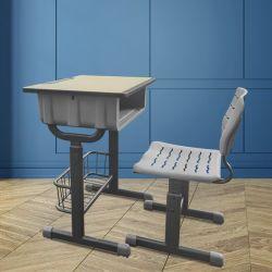 Classe de formation Table et Chaise ajustable étudiant en classe d'étude de l'école Bureau et chaise (DC0001)