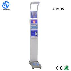 Dhm-15 Hauteur poids IMC Échelle équilibre du corps