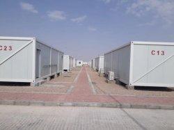 Utilização comercial 20FT armação de aço modificada contentor Casa refugiados Camp