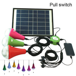 Moveable&Rechargeable Solar Camping Light con il cellulare Charger