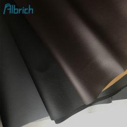 Бесплатный образец 1,0 мм High-Quality красочные ПВХ ФИОЛЕТОВОГО цвета из искусственной кожи для сумок Car-ФО натуральной кожи с Velveteen-Like резервного копирования