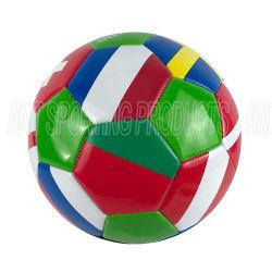 Drapeau de l'impression Soccer-Machine Couture Ball-Promotional utiliser de soccer de soccer