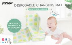 Veranderende Mat van het Document van de Baby van de luier de Beschikbare voor de Voeringen van de Lijst