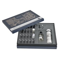 El lujo de gran tamaño de papel personalizados cosmética llevar Caja de regalo con la bandeja de verificación