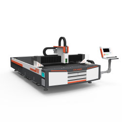 Metallblätter, die kupfernen Edelstahl CNC-Stich-Fräser-Faser-Laser-Ausschnitt-Maschinen-Laser-Aluminiumscherblock 1000With2000With3000W aufbereiten