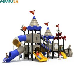 2020 Castelo Feiyou Rei Tema Piscina crianças de escola e creche por grosso de equipamento de parque infantil
