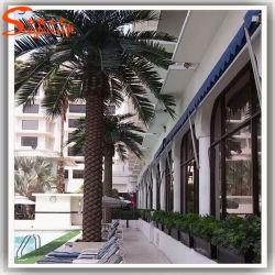 فندق الديكور الاصطناعي المعادن النخيل النباتات شجرة