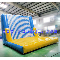 5X4mh Inflatable Sticky Wall con trajes/Inflatable Stick Jump Wall Climbing