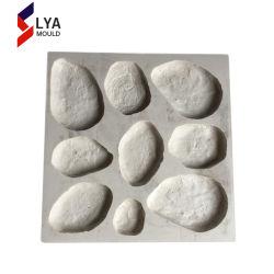 Silicone paroi décorative en pierre artificielle des moules pour le béton
