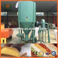 0.5-1T/H de aspiración legítima Molinillo y mesa de mezclas para alimentación de aves de corral