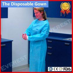 Steriles Wegwerf-SMS nicht gesponnenes chirurgisches Kleid