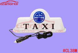 Luz de LED de 12V cor branca Luz superior de táxi de montagem magnética do Cortador de carro