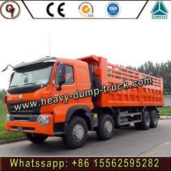 HOWO camion de gros camion OEM 8X4 Dumper chariot A7