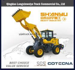 Торговая марка Shanyu строительные машины 3 тонны 5 тонн со стороны переднего колесного погрузчика для продажи