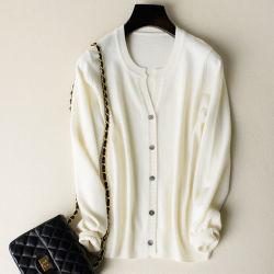 New Women's /Chandail de laine de cachemire Cardigan de gros de vêtements en bonneterie