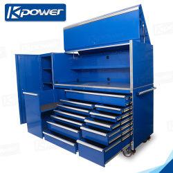 2020 het Nieuwe Toolbox van de Opslag van het Hulpmiddel van het Karretje van de Workshop van 76 Duim Kabinet van de Garage