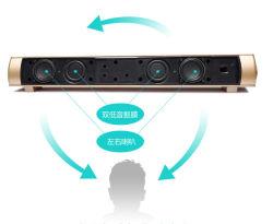 Hauptkino-Ton-Stab-drahtlose blaue Zahn-Lautsprecher-Einfassungs-Superbaß-Lautsprecher mit doppelter Membrane