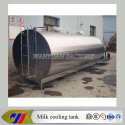 5T et 10t peuvent être personnalisés de lait le lait de la machine cuve de refroidissement du refroidisseur