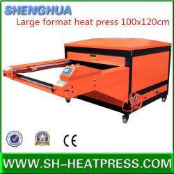 Vente de gros de la sublimation thermique chaud Appuyez sur la machine 100*120cm, 100*80cm