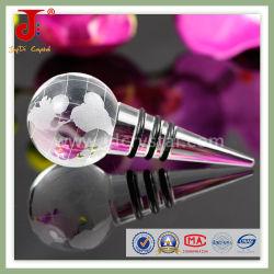Decorazione di cristallo di vetro del tappo/vino della bottiglia di vino