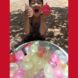 Ballon de l'eau de l'eau Ad petite bombe ballon magique